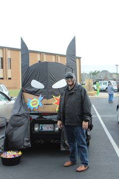 Trunk or Treat Idea Batman