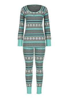 fair isle print thermal leggings - maurices.com