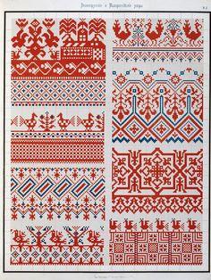 Сборник великорусских и малороссийских узоров 1877