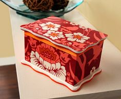 Mod Podge DIY jewelry box