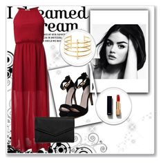 """""""date"""" by kamilazborovjanova on Polyvore featuring LULUS, BauXo and Chanel"""