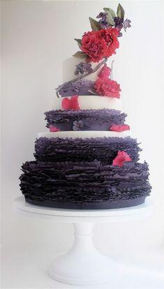 Purple and Pink Cake