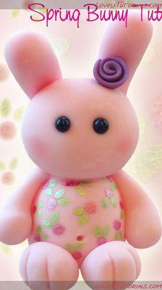 Bunny Cake Topper Tutorial