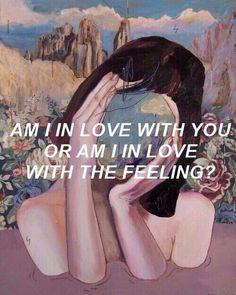 l'amour de l'amour <3 se droguer aux sentiments pour une personne qui nous est précieux.