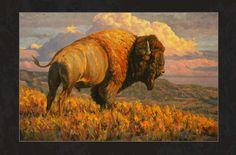 Bruce Miller Art | Landscape Wildlife Original Paintings ::Oil Nature | Lake Minnetonka Print