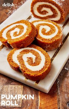 Pumpkin Cheesecake Roll Is A Must Make This FallDelish cake cheesecake cake cupcakes cake decoration cake fancy dessert cake Pumpkin Cheesecake Roll Recipe, Pumpkin Roll Cake, Cake Roll Recipes, Pumpkin Dessert, Pumpkin Spice, Cheesecake Frosting, Cheesecake Recipes, Raspberry Cheesecake, Oreo Cheesecake