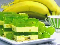"""z cukrem pudrem: ciasto """"Bananowa randka"""" (bez pieczenia)"""