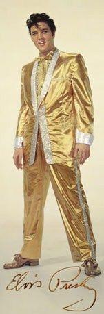 Pure Gold, Elvis Aaron Presley Poster: 91.5cm x 30.5cm - Buy Online