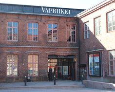 Vapriikki is a big museum in an old textile factory complex in Tampere and there are several exhibitons at the same time. Worth a visit. Shoe Store Design, Exhibitions, Finland, Places To Go, Centre, Multi Story Building, Museum, Urban, Mansions