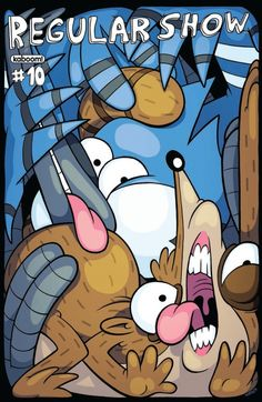 Regular Show #10 cover A by Andy Hirsch