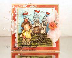 Sweet Princess Tilda w/ her Castle - AngieH