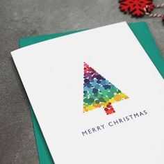 Bright Modern Christmas Tree Cards by Mock Up Designs, the perfect gift for Explore more unique gifts in our curated marketplace. Modern Christmas Cards, Christmas Card Packs, Merry Christmas, Christmas Tree Cards, Christmas Star, Anniversary Greetings, Anniversary Cards, Star Cards, Kids Birthday Cards