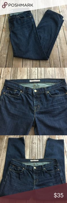 J.Brand Pure Denim jeans like new 7/8 32 waist. 26 inseam! These are like new! No flaws J Brand Jeans Ankle & Cropped