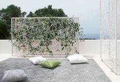 wiremesh green wall