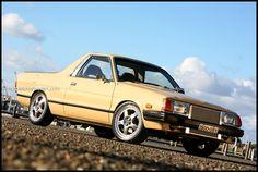 Subaru Brat Brumby wrx engine turbo