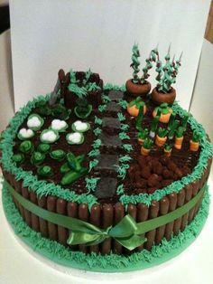 Allotment birthday cake