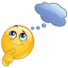 Thinking emoticon. Design of a Cute emoticon thinking stock illustration Smiley Emoji, Smiley Faces, Funny Emoji Faces, Funny Emoticons, Emoji Images, Emoji Pictures, Emoji Love, Cute Emoji, Thinking Emoticon