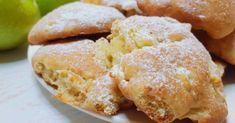 Minutkové měkoučké jablečné sušenky: pokud máte doma 2 jablka a 6 minut času, musíte je vyzkoušet! Já už z jablek nic jiného nedělám - Cooking Cookies, Hamburger, Bread, Food, Abs, Kitchen, Bakken, Crunches, Cooking