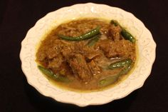 """No matter how hard we try , it is not easy to make the """"biye bari style"""" ( wedding style rezala in Bangladesh) rezala at home . But just did little research and found that use of cracke…"""