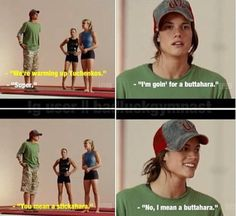Ah hahaha. I love stick it! Literally te best movie ever!!!