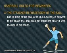 Hanball rules for beginners