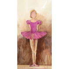Oopsy Daisy Belle of the Ballet Canvas Art Color: Pink