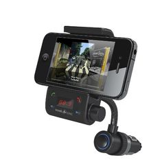 Incredisonic IFM-500 Bluetooth FM Transmitter Car Kit With Goosneck GPS Vehicle Mount Combo, for Iphone 5 4 4S 3GS, Ipod Touch All Versions, Samsung Galaxy Nexus S2, & S3, HTC Sensation EVO Thunderbolt, Motorola Razr & Bionic, & All other Android & Windows PDA phones by Incredisonic. $44.95. The Incredisonic IFM-500 Bluetooth FM Transmitter Car Kit delivers crystal clear sound through the FM Frequency of your Vehicle.  With a built-in microphone that features Crystal...