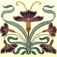 Nouveau Back Splash Accent Tiles - traditional - kitchen tile - other metro - Connie's Custom Creations