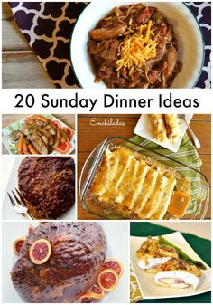 Soul food sunday dinner ideas sunday dinners soul food and dinner 20 sunday dinner ideas 20 easy sunday dinner meal ideas perfect for meal planning forumfinder Image collections