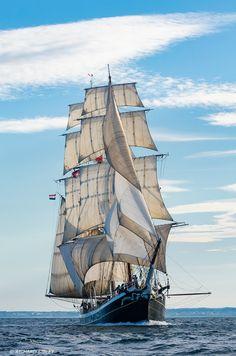"Dutch clipper brig ""Morgenster""                                                                                                                                                                                 More"