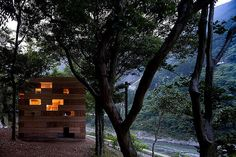 So many interesting ideas in this one!!! http://smallhousebliss.com/2012/07/15/final-wooden-house-by-sou-fujimoto/