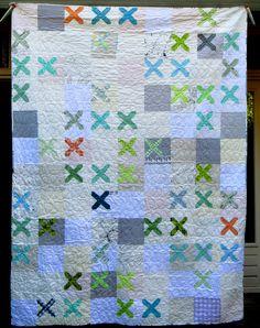 https://flic.kr/p/nV4spS | Knit snippet quilt - front | slootjesschilder.blogspot.nl/2014/07/knit-snippet.html