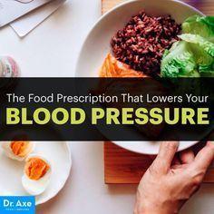 High blood pressure diet - Dr. Axe http://www.draxe.com #health #holistic #natural