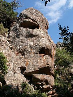 Gigante nuragico Golgo 'e Mesu - Piana del Golgo - Baunei - Ogliastra Sardegna