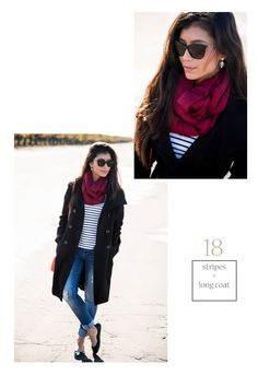 Looking for different ways to wear a scarf & scarf outfit ideas, here's the definitive guide on how to tie a scarf & ways to wear a scarf year-round. Ways To Wear A Scarf, How To Wear Scarves, Burgundy Scarf, All Black Outfit, Casual Winter Outfits, Look Fashion, Winter Fashion, Scarf Styles, Womens Scarves