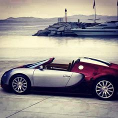 Yacht or this cool Bugatti Veyron? Veyron anyday!