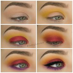 Sugarpill Burning Heart Palette Tutorial