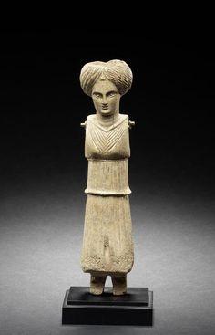 A Roman bone doll. Circa 1st Century A.D.