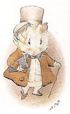 mouse illustration beatrix potter - Google Search