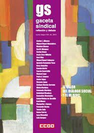 El valor del diálogo social y el III AENC / [Jorge Aragón, dirección ; coordinación Aida Sánchez] Madrid : Confederación Sindical de Comisiones Obreras, 2015