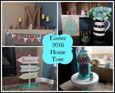 Easter 2016 Home Decor Tour
