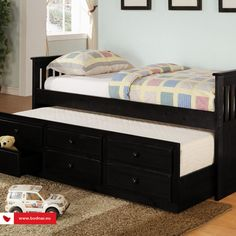 Cheap Shop Coaster La Salle Daybed with Trundle and Storage Drawers in Black Product details Some assembly may be required. Please see product details. Coaster La Salle Daybed with Trundle and Storage Drawers in Black Trundle Mattress, Twin Daybed With Trundle, Daybed With Storage, Trundle Beds, Daybed Sets, Bunk Bed, Bedroom Storage, Sofa Daybed, Daybed Bedding