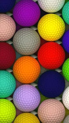 Rainbow of Golf Balls!- Rainbow of Golf Balls! Rainbow of Golf Balls! Iphone Homescreen Wallpaper, Phone Wallpaper Images, Live Wallpaper Iphone, Phone Screen Wallpaper, Cool Wallpapers For Phones, Wallpapers Android, Emoji Wallpaper, Apple Wallpaper, Pretty Wallpapers