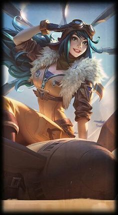 League of Legends- Aviator Irelia