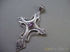silver cross jewelry