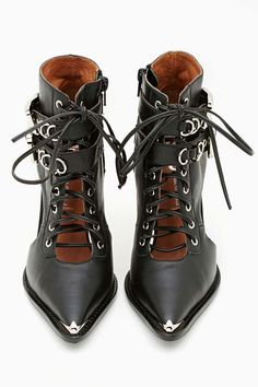 Jeffrey Campbell Ravier Bootie #shoes #boots