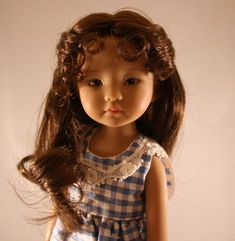 """Little Darling,Boneka,BJD""""Catherine""""Wig Size 5-6,7-8,9-10,10-11,11-12,13-14,15-1 