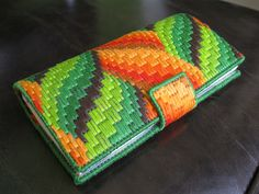 bargello checkbook holder