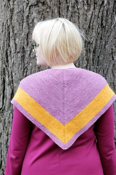 Get a free knitting pattern for an Outlander-inspired shawl, the Outlander Chevron Shawl from Hands Occupied