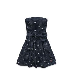 Navy Icon Dot by Hollister